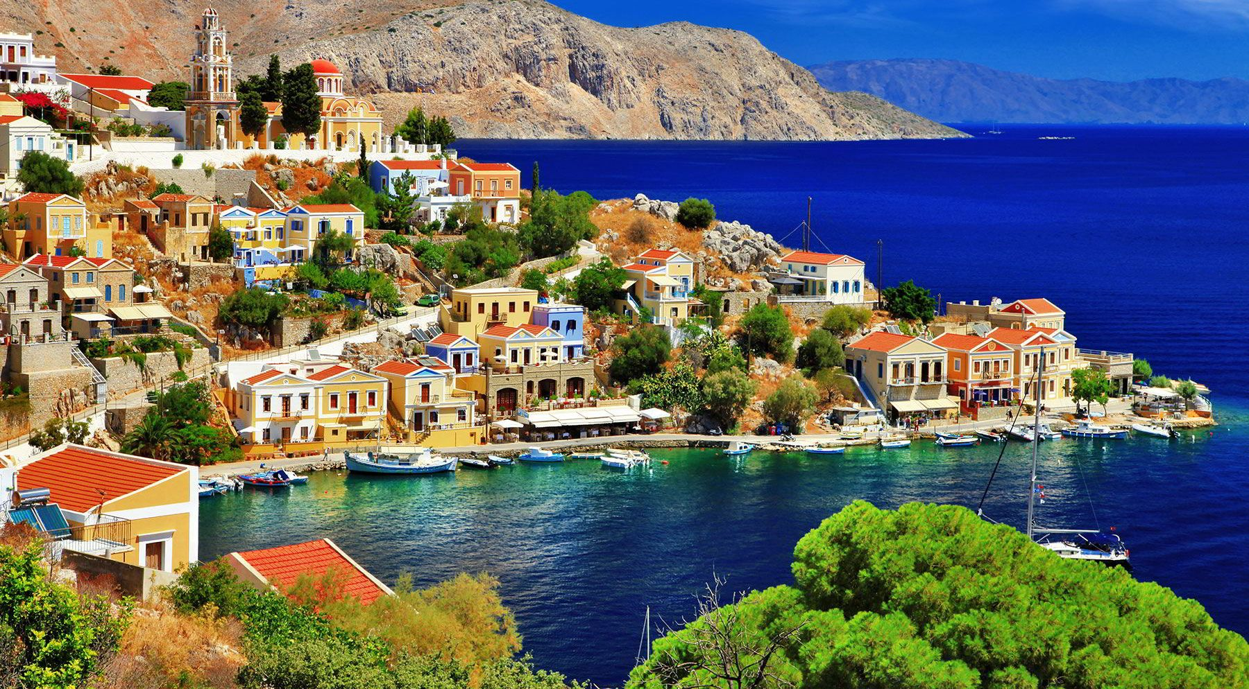 blue cruise Greek Islands